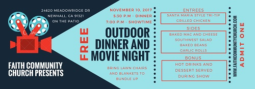 Fall Matthew Party: Dinner & Movie Night - November 10th
