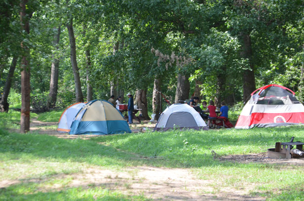 Dad's and Kids' Campout: June 2nd-4th