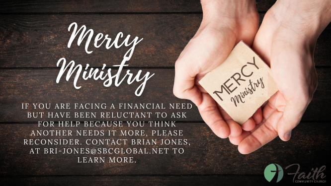 Mercy Ministry Update